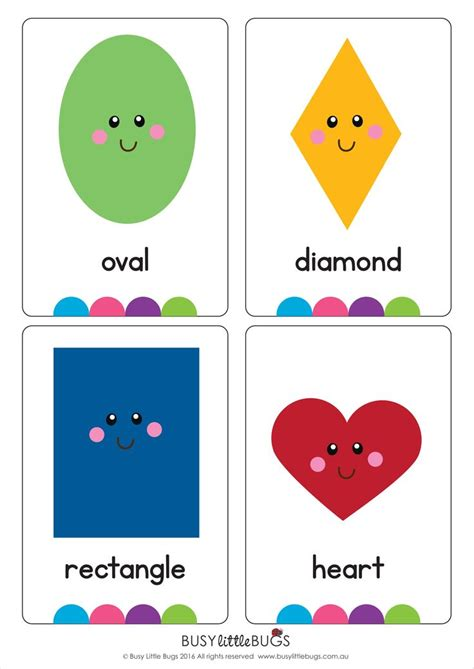 shape flash cards templater our quot shape flash cards quot are a great learning tool for your