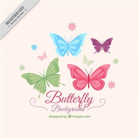 sfondi fiori e farfalle disegnati a mano farfalle sfondo con fiori scaricare