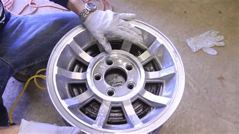 how to paint aluminum wheels