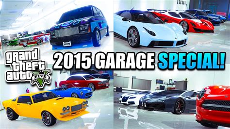 Gta 5 Special Vehicles In Garage by Gta 5 2015 Garage Up Tour Special Supercars