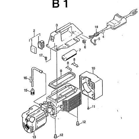 wiring diagram for karcher pressure washer wiring