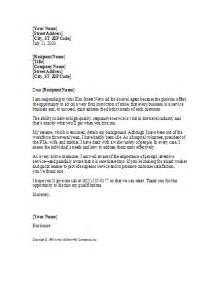 sample cover letter cover letter examples returning to