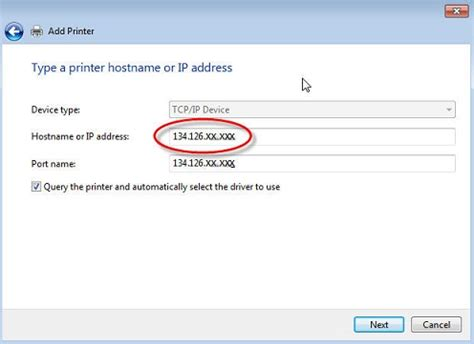 Printer Ip Address Lookup How To Connect To A Network Printer Windows 7 Si Its