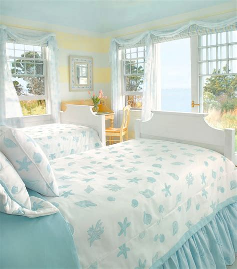 pastel yellow bedroom pastel blue and yellow guest bedroom coastal style