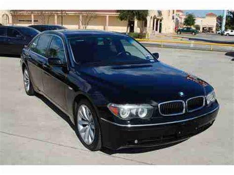 2005 Bmw 745li For Sale by Buy Used 2005 Bmw 745li Base Sedan 4 Door 4 4l In Houston