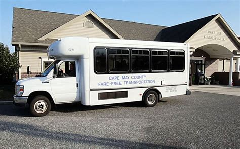 free shuttle keeps cape may county seniors on the go well fed cape may county