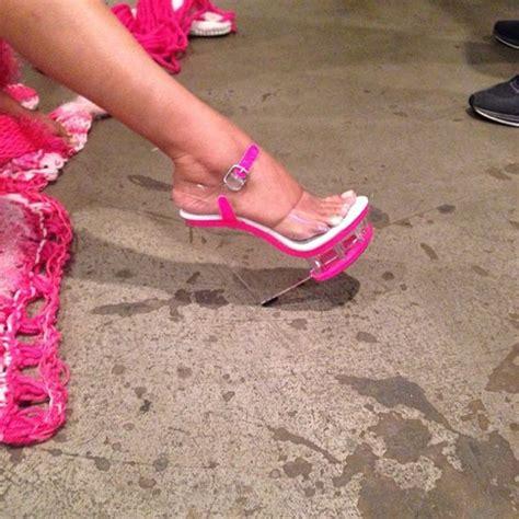 nicki minaj shoes shoes glass heel nicki minaj collection nicki minaj