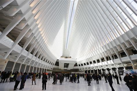 new york station books new york inaugura 171 oculus 187 il nuovo hub creato da