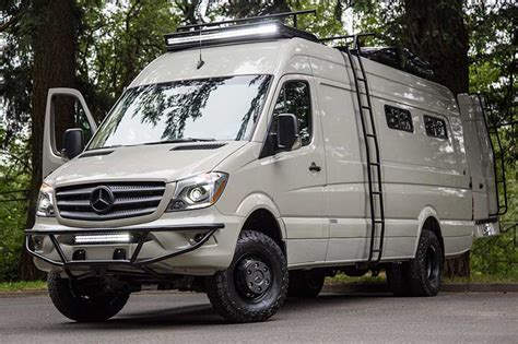 mobile home vans valhalla 4x4 mercedes sprinter mobile home by outside