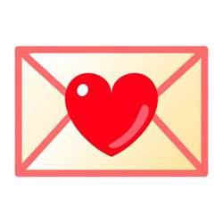 letter emoji for email sms id 707