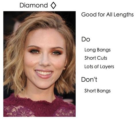 career haircuts for diamond shaped face best 25 diamond face shapes ideas on pinterest