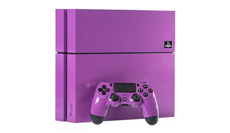 used ps4 console 500gb playstation 4 purple console premium refurbished