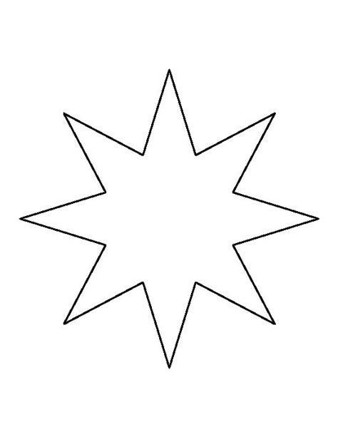star pattern in c pdf eight point star pattern use the printable outline for