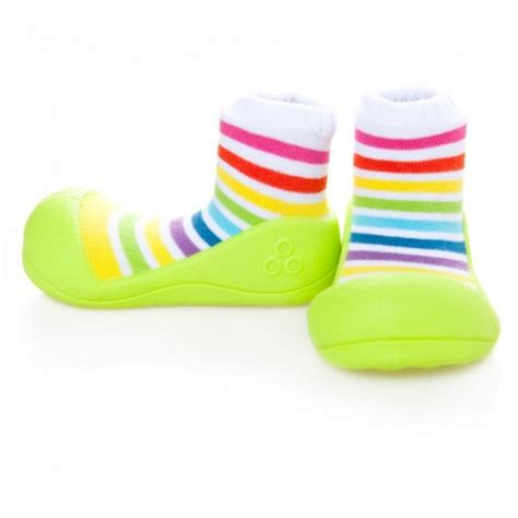 baby shoes attipas quot rainbow quot green attipas