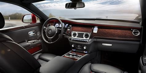 interior rolls rolls royce the luxury car which is equivalent to a yacht