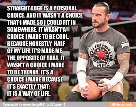 straightedge quotes awesome quote by cm words to live by
