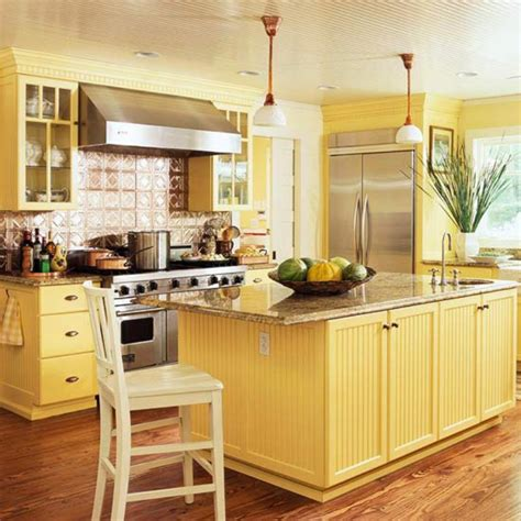 Expressive Kitchen Cabinets by Yellow Kitchen Cabinets Traditional Kitchen Design