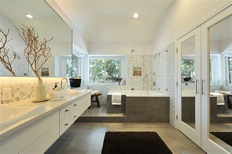 Modern Dining Room Light Fixtures by Contemporary Master Bath Spa Bathrooms We Love