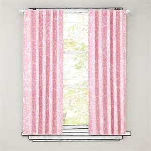Pink Panel Curtains Floral Blackout Curtains Pink The Land Of Nod