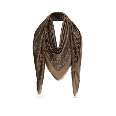lv pattern scarf monogram shine shawl accessories louis vuitton