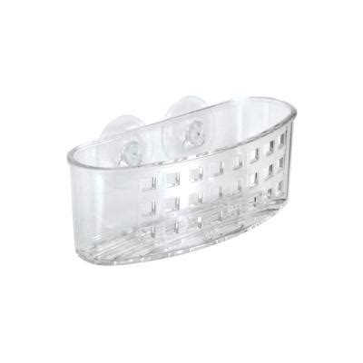 bathtub caddy home depot interdesign clear suction bath caddy 23600 the home depot