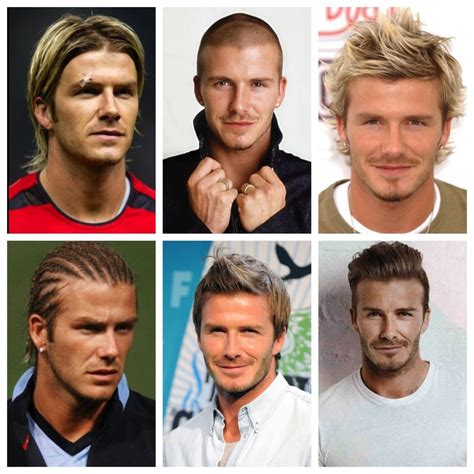 mens hairstyles throughout history davidbeckham hair history hairstyle evolution