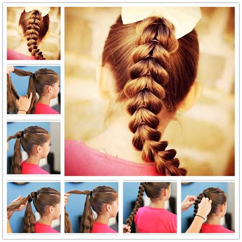 how to make easy hairstyles with pictures how to make easy cool braided hairstyles