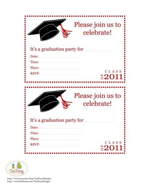 graduation invitations templates free top 14 free printable graduation invitation templates for