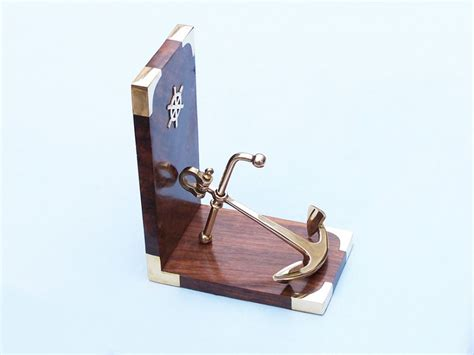 wholesale brass anchor book ends wholesale fishing decor