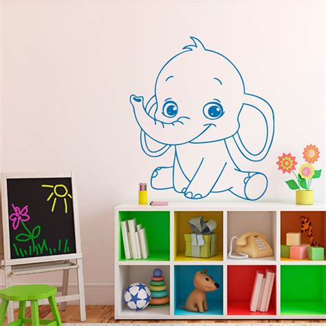 wall sticker baby elephant wall stickers ebay