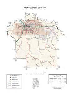 montgomery county map maps of montgomery county