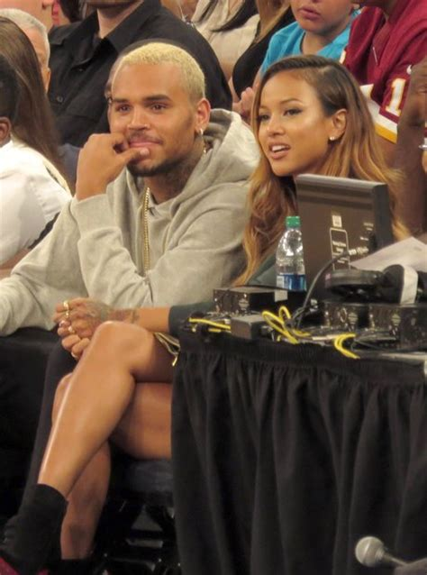 the history of chris brown and karrueche tran s