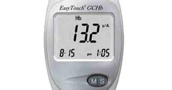 Asli Murah Hemaglobin Easy Touch alat test hemoglobin hb darah easy touch gchb toko medis jual alat kesehatan