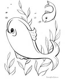 printable fish coloring pages free fish shape coloring pages