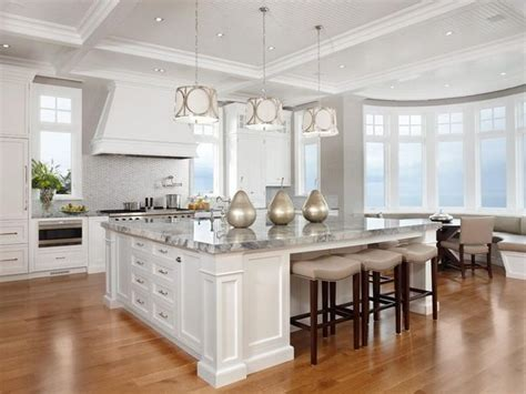 huge kitchen island big kitchen island kitchens pinterest