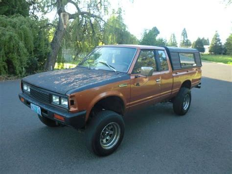 purchase used 1984 nissan 720 4x4 diesel sd25