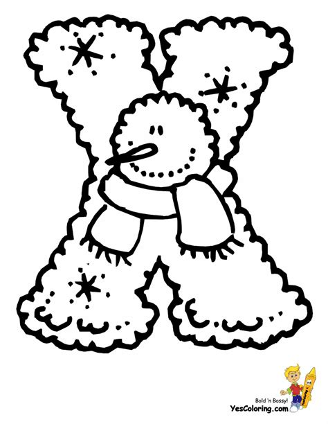 christmas coloring pages letters lumpy snowman christmas letters free alphabet christmas
