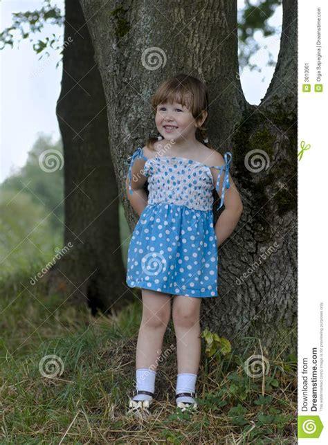 0008288607 the girl in the woods little girl in the woods stock image image 3010901