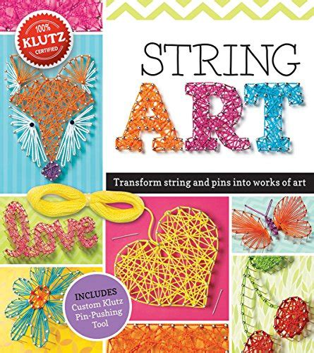 String Pattern Books - bestselling activities crafts books for 10 year