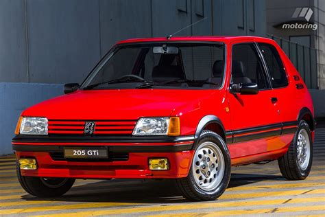 Revisiting The Peugeot 205gti The Best Hatchback Of