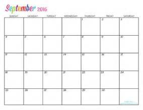 calendar templates to print september 2016 printable calendar blank templates