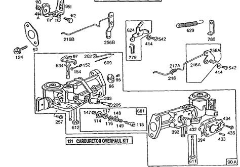 briggs and stratton carburetor diagram briggs and stratton linkage diagram briggs free engine