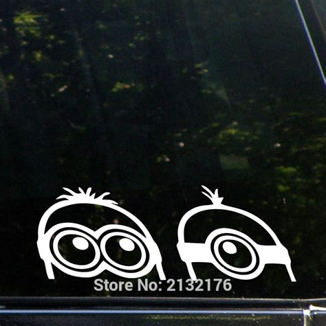 Auto Decals Kopen by Online Kopen Wholesale Minion Auto Decals Uit China Minion
