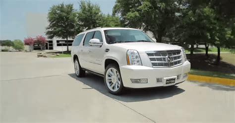 2012 Cadillac Escalade Esv Platinum by 2012 Cadillac Escalade Platinum Esv Review Car Pro Usa