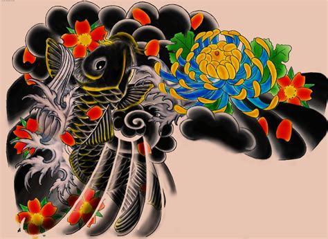 japanese design japanese tattoos color design art images wallp 7830