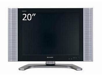 Tv Sharp 24 Inchi Tabung sharp lc 20b10m 20 inch lcd tv