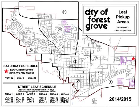 forest grove oregon map forest grove leaf collection program to now offer drop