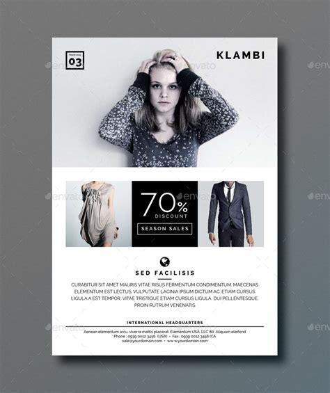 fashion flyers templates for free klambi fashion flyer by boxkayu graphicriver