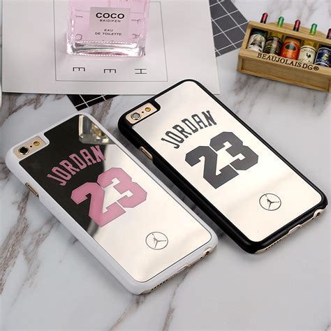 Mirror Basketball Nba Michael 23 For Iphone 6 aliexpress buy nba brand michael 23 cover for iphone 6 6s plus 5s se pc