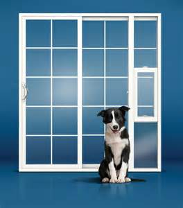 sliding glass doors with doggie door built in seattle entry patio amp french door replacement foggy